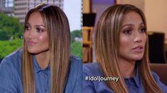 #Jennifer #Lopez #JLo #makeup #gorgeous #hair #sleek #straight