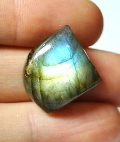 Labradorite Gemstone Cabochon Freeform AAA  19.1 x 18.1 mm by AliveGems, $5.50
