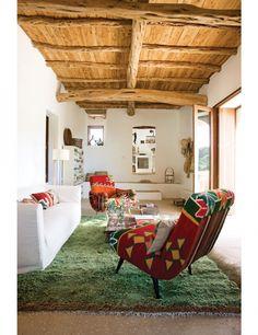 11x kleurrijke interieurs