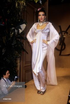 Yves Saint Laurent Spring-Summer 1983 Fashion Show