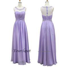 Elegant Round-collar Beading Prom Dress / Evening Dress from Your Closet #coniefox #2016prom