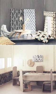 Modern DIY Cardboard Dollhouse Furniture