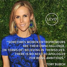 Tory Burch quote - There is no need to apologize for being ambitious Great Quotes, Quotes To Live By, Entrepreneur, Motivational Quotes, Inspirational Quotes, Good Vibe, Career Inspiration, Marketing Jobs, Successful Women