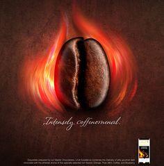 Lindt Chocolate | #ads #marketing #creative #werbung #print #poster #advertising #campaign < repinned by www.BlickeDeeler.de | Follow us on www.facebook.com/blickedeeler