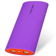20000mAh Matte Surface Design External Battery Charger Mobile Power Bank for Samsung Galaxy S4 i9500 / S5 / S3 i9300 / Note 3 N9000 / Note 2 N7100 / iPad / iPhone 4 / 4S / 5 / 5S / 5C / HTC / Nokia / (PURPLE) | Everbuying.com