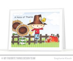 Handmade card from Stephanie Klauck featuring Fall Friends and Harvest Buddies…