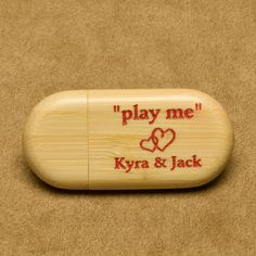 Are you in need of personalized flash drive for your save the dates? Personalized Wedding is here to help! These custom engraved flash drives are perfect for your guests! Wedding Favors For Guests, Wedding Save The Dates, Wedding Reception Decorations, Our Wedding, Bachelorette Party Gifts, Unique Wedding Gifts, Bridesmaids And Groomsmen, Custom Engraving, Wedding Trends