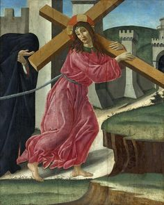 Христос, несущий крест (и мастерская). Сандро Боттичелли