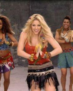 Shakira - Waka Waka Official Music Video / World Cup 2010 Shakira Music Videos, Shakira And Gerard Pique, Time For Africa, Shakira Mebarak, Waka Waka, Celebrity Singers, Jennifer Lopez, Jennifer Lawrence, Actresses
