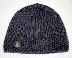 Super cute knitted hat :)