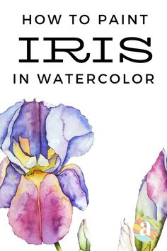 Watercolor Beginner, Watercolor Art Lessons, Watercolor Paintings For Beginners, Easy Watercolor, Painting Lessons, Watercolor Techniques, Floral Watercolor, Watercolor Projects, Beginner Painting