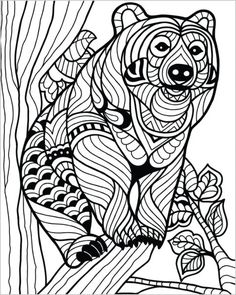 Fox Coloring Page Coloring Pinterest Foxes Adult