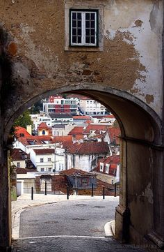 Leiria Portugal Portugal Country, Spain And Portugal, Places To Travel, Places To Go, Great Memories, Algarve, Cityscapes, Beautiful Landscapes, The Good Place