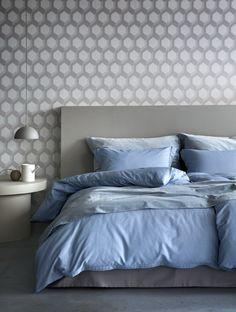 Høie of Scandinavia - Satin Bedding, Bedclothes, Scandinavian Bedroom, Weaving, Luxury, Create, Cotton, Design, Rome