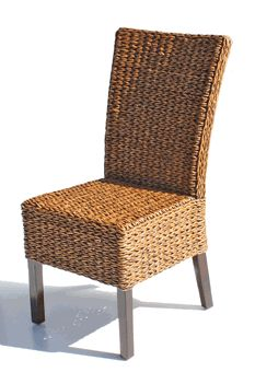 Cabo Seagr Dining Chairs Set Of 2 Via Wicker Paradise