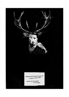 Hannibal : kronhjorten.tumblr.com - Killing must feel good...