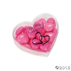 Personalized Heart-Shaped Boxes - OrientalTrading.com