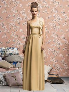 Dessy/ Lela Rose in Venetian Gold  Style LX141XX