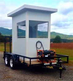 Depending on the levels of security your business demands, there are a wide variety of different security guard shacks and booths available.  You can choose from different thicknesses of the aluminum that is used for the actual construction from one and three quarter inch through to a full three inches if the demands of the booth require that.