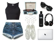 """""""You can have whatever you like"""" by pirate-elle ❤ liked on Polyvore featuring Margaret Howell, Levi's, Lost & Found, Crosley Radio & Furniture, Forever 21, Beats by Dr. Dre, women's clothing, women, female and woman"""