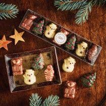 Chocolate Christmas Characters