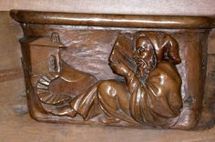 misericord of Saint Volusien abbaye in Foix (France)