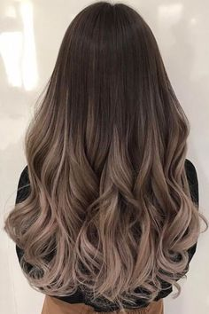 Balayage and ombre hair. Hair color ideas and trends for 20 Hairstyles hair ideas. Balayage and ombre hair. Hair color ideas and trends for 20 - - Hairstyles hair ideas. Balayage and ombre hair. Hair color ideas and trends for 20 - - Hair Color Balayage, Hair Highlights, Ombre Hair Color For Brunettes, Ash Brown Hair Balayage, Ash Brown Ombre, Color Highlights, Ombre For Long Hair, Gray Ombre, Balyage Hair