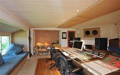 celebrity home music studios - Google Search