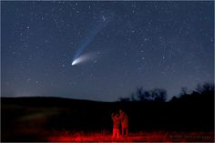 I saw a shooting star that exploded twice. Brightest star ever. Perfect moment <3