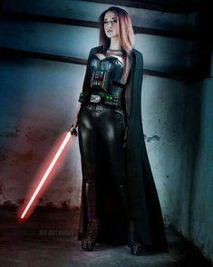 Darth Vader Cosplay #starwars #starwarsgirls #cosplay #darthvader