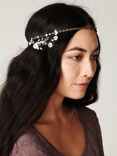 I so adore this floral headband from Free People.