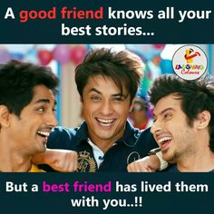 Dabbbbbu n affff 3 Idiots Quotes, Bff Quotes, Jokes Quotes, Friendship Quotes, Movie Quotes, Qoutes, Love U Friend, Dear Best Friend, Crazy Friends