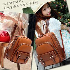 2013 nueva mochila escolar bolsa de muy buen gusto vintage estilo bolso de la mujer hb027