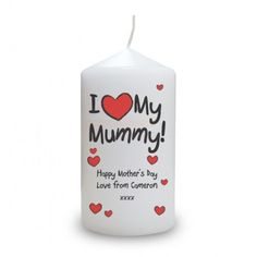 15 best personalised candles images on pinterest personalized