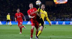 Duel Dortmund vs Liverpool Seri 1-1