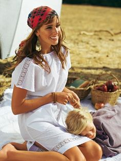 burda style, Schnittmuster Strandkleid - Mit dem locker geschnittenen Kleidchen gehts entspannt in den Urlaub