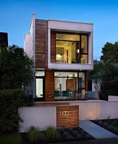 casa pequeña y moderna