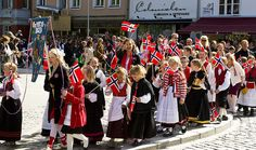 Visit Bergen May 17 and experience how the Norwegian people celebrate the Norwegian National Day.