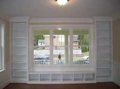 built ins. maybe in the master bedroom sitting area or living room to convert a corner to a library corner.