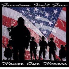Thank them for their sacrifice!!