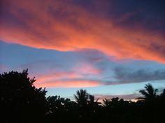 #Sunset, #Reunion Island, www.missfranglais.fr