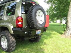 Rear bumper for my Jeep Liberty - The Garage Journal Board Jeep Liberty Sport, Cherokee Sport, Lift Kits, Cars And Motorcycles, Monster Trucks, Black Lungs, Vehicles, Jeep Stuff, Body Armor