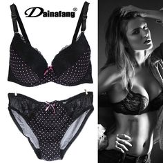 Aliexpress.com   Buy Plus size bra set38D40D42Dcup women brand bra set Sexy lace  underwear Ladies completino intimo donna Bras and Panty set from Reliable  ... e3ba79ce7b4