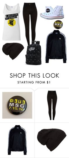 """""""Untitled #3"""" by niamhgrimes ❤ liked on Polyvore featuring Converse, adidas Originals and Vans"""