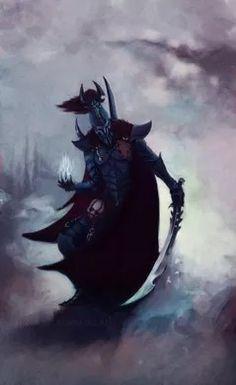 Overlord of the Dark Eldar. Warhammer 40k Dark Eldar, Eldar 40k, Warhammer Art, Warhammer 40k Miniatures, Warhammer Fantasy, Warhammer 40000, Fantasy Heroes, Fantasy Warrior, Fantasy Art