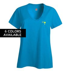 Perfectly Palmetto Ladies' V-Neck T-shirt by PalmettoTraditions