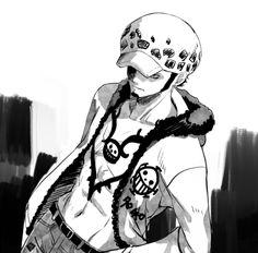 One Piece Man, Trafalgar Law, Cellphone Wallpaper, Pirates, Manga Anime, Minecraft, Fanart, Husband, Artist