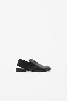 Elastic back shoes