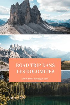 Itinéraires avec carte interactive, lieux à voir, bon plan camping, road-trip en van dans les Dolomites ! Travel Around The World, Around The Worlds, Camping, Blog Voyage, Scenery, To Go, Europe, Adventure, Mountains