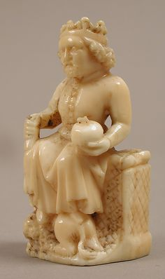 Chess Piece of a King - dates to the 14th century